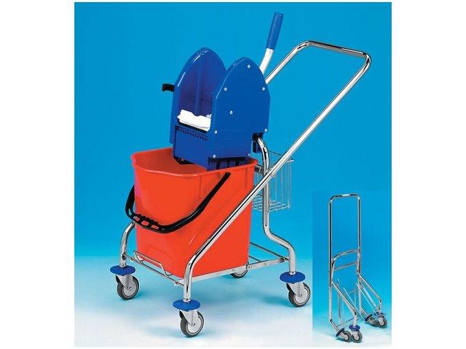 Úklidový vozík REKORD 1x25 skládací