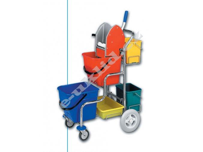 KAMZÍK,úkl.vozík, provedení 2x6 l
