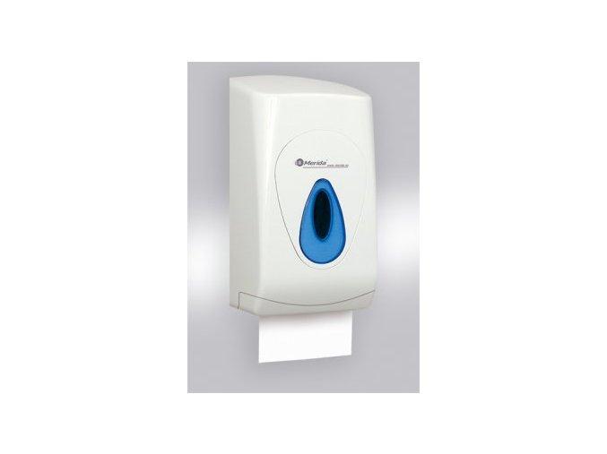zásobník na skládaný toaletní papír modra kapka