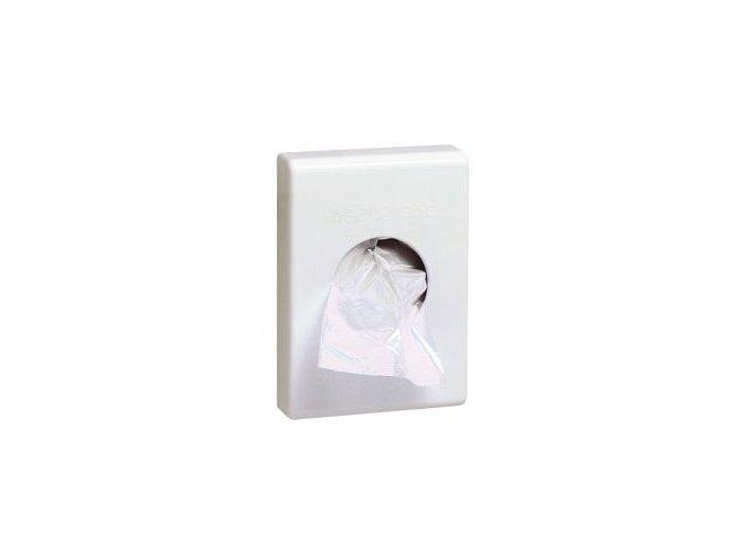 Zásobník hygienických sáčků,bílý