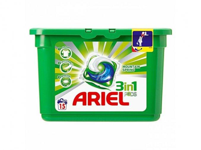 Gelové kapsle na praní Ariel Tabs 14 ks