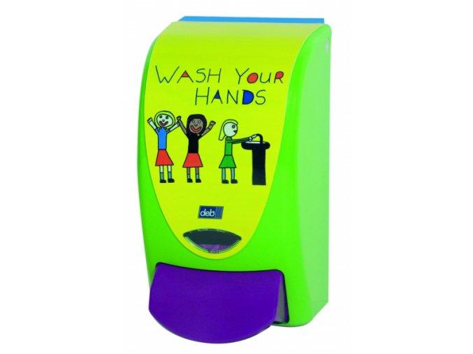 Dávkovač DEB Proline Wash Your Hands (dětský)