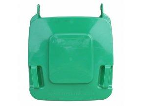 Víko koše KJS412,120 l - zelené