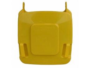 Víko koše KJS412,120 l - žluté