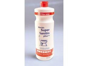 Čistící prostředek na mytí WC Merida SUPER SANITIN Plus 1 l.