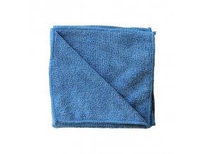 Utěrka z mikrovlákna ECONOMY,modrá, 35x35 cm (dříve MS012)