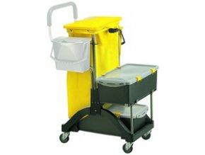 Úklidový vozík Moboxx systém máčení mopů