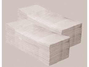 Jednotlivé papírové ručníky ŠEDÉ 5000 ks skládané