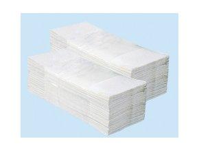 Jednotlivé papírové ručníky bílé 4000 ks PZ23 skládané
