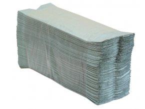"""Jednotlivé papírové ručníky skládané do """"C"""" zelené 3000 ks"""