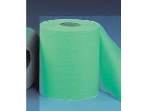 Papírové ručníky v rolích MINI - ZELENÉ, (12rolí/balení)