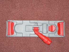 Úchyt pro plochý mop s klopami malý, 40 x 11 cm - TR2A
