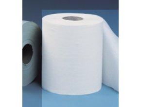 Papírové ručníky v rolích MERIDA OPTIMUM MAXI, 2 - vrstvé, bílé /dříve      ROB103/