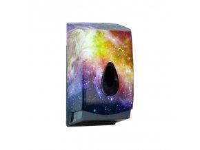 Zásobník na toaletní papír skládaný MERIDA UNIQUE MAGIC LINE - lesk