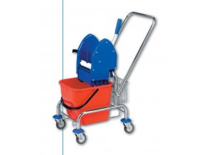 Úklidový vozík CLAROL,1x17 l