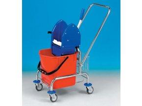 Úklidový vozík CLAROL 1 x 25 l se ždímačem