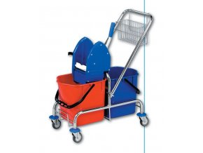 Úklidový vozík CLAROL 2x25 l