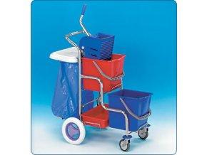 KAMZÍK,1x70l,úklidový vozík