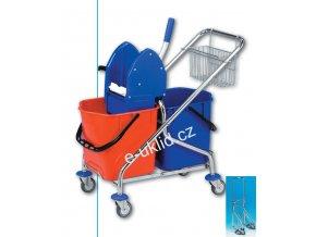 Úklidový vozík REKORD 2x25 l skládací