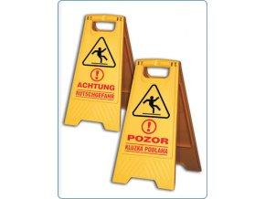 Výstražná tabule - kluzká podlaha