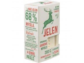 Mýdlo jádrové jemné Jelen 200 g