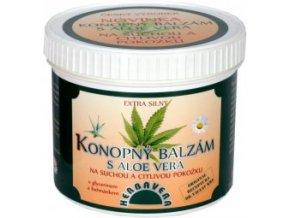 Konopný balzám s Aloe Vera 500 ml