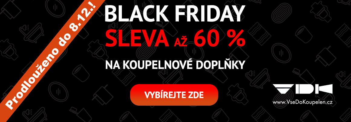 Výprodej koupelnových doplňků Black Friday 2019