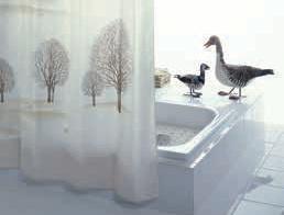 Sprchové závěsy