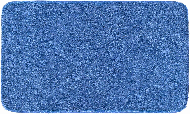 Modrá koupelnová předložka Melange