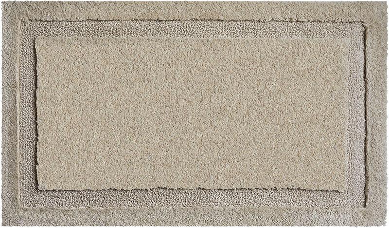 Šedá koupelnová předložka Natura z bavlny - GRUND