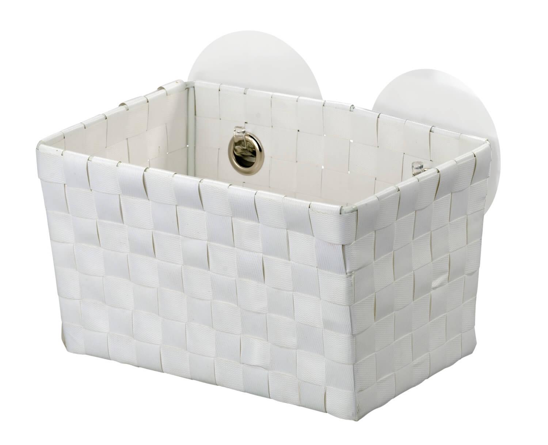 BEZ VRTÁNÍ StaticLoc FERMO - koupelnový koš bílý z20383100