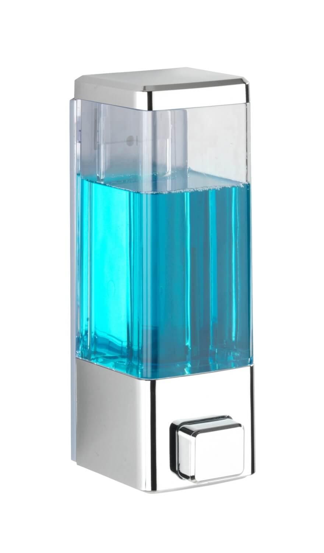 ISTRES - Dávkovač mýdla a dezinfekce, kovově lesklý Z24593100