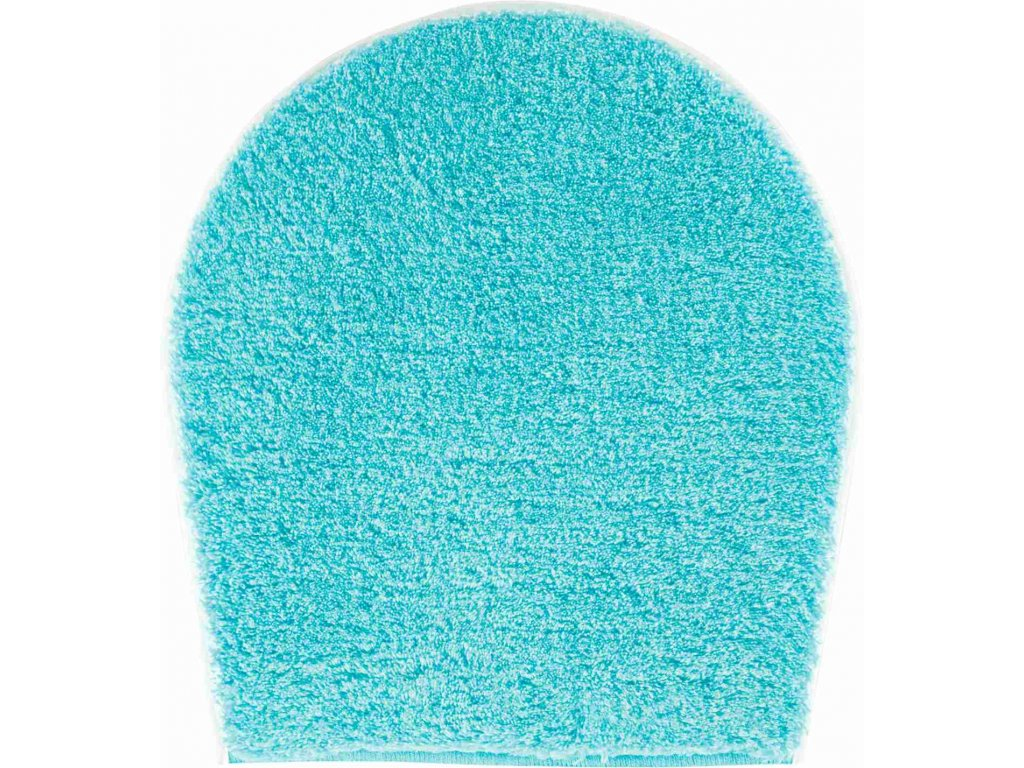WC předložka s výřezem modrá, Polyakryl UltraSoft, LEX