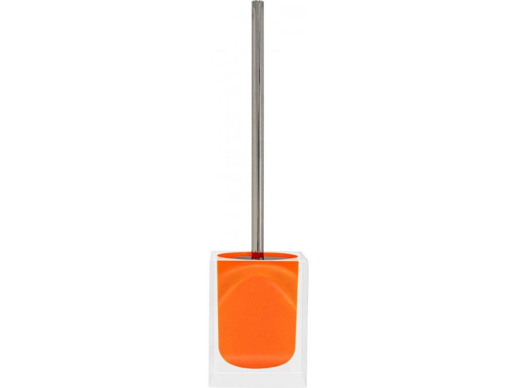 CUBE - WC štětka, oranžová, z22280414, 8590507326168, 64