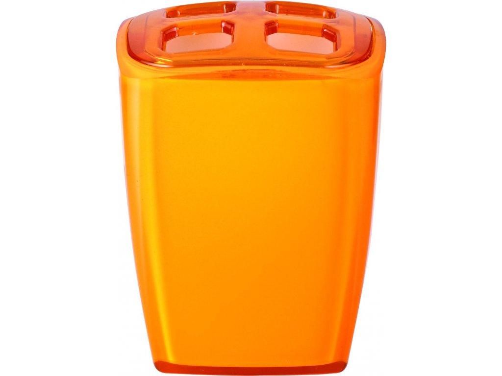 NEON - Kelímek na kartáčky, oranžový, z22020214, 8590507326687, 64