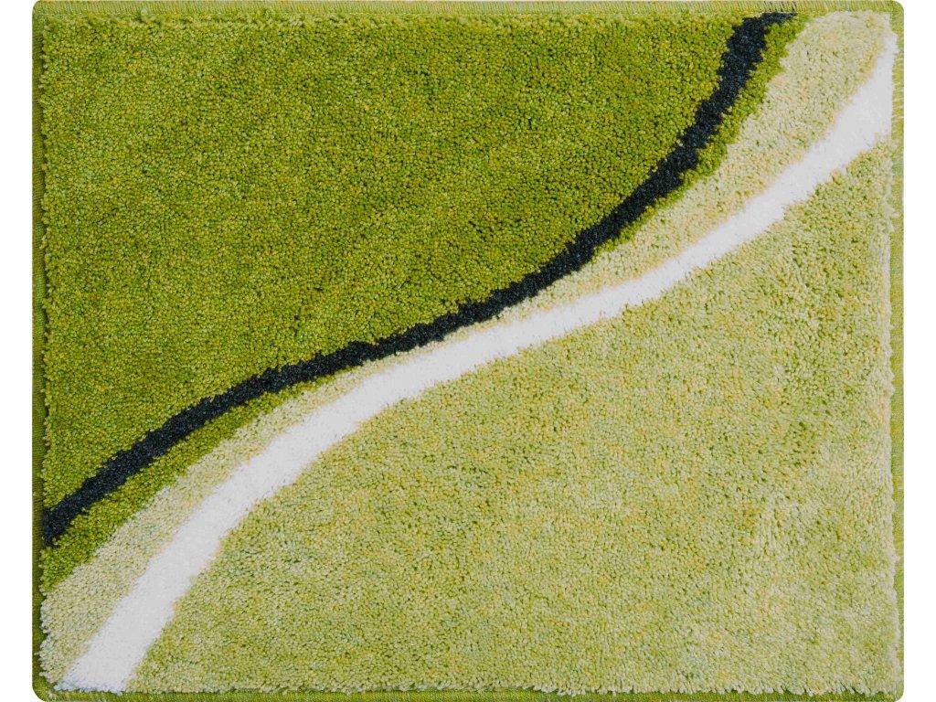 Koupelnová předložka zelená, Polyakryl SuperSoft, LUCA, b3742-023001226, 8590507308010, 63