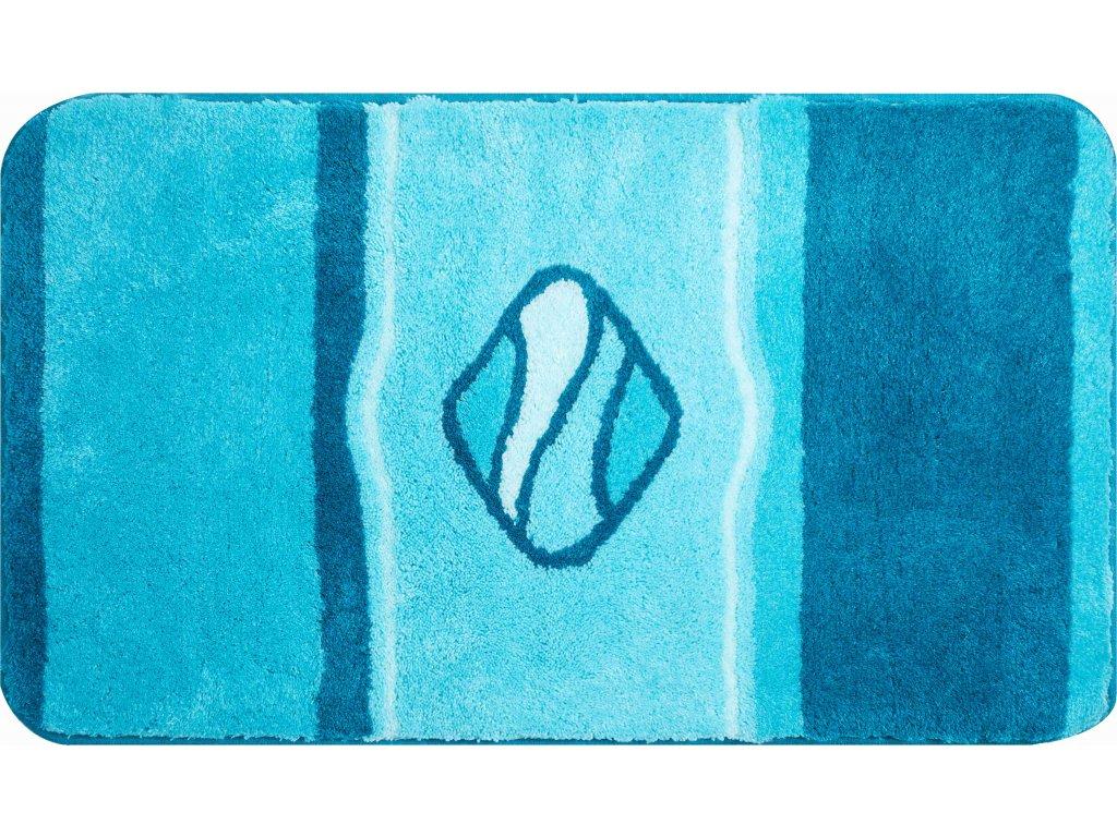 Koupelnová předložka modrá;tyrkysová, Polyakryl UltraSoft, JEWEL