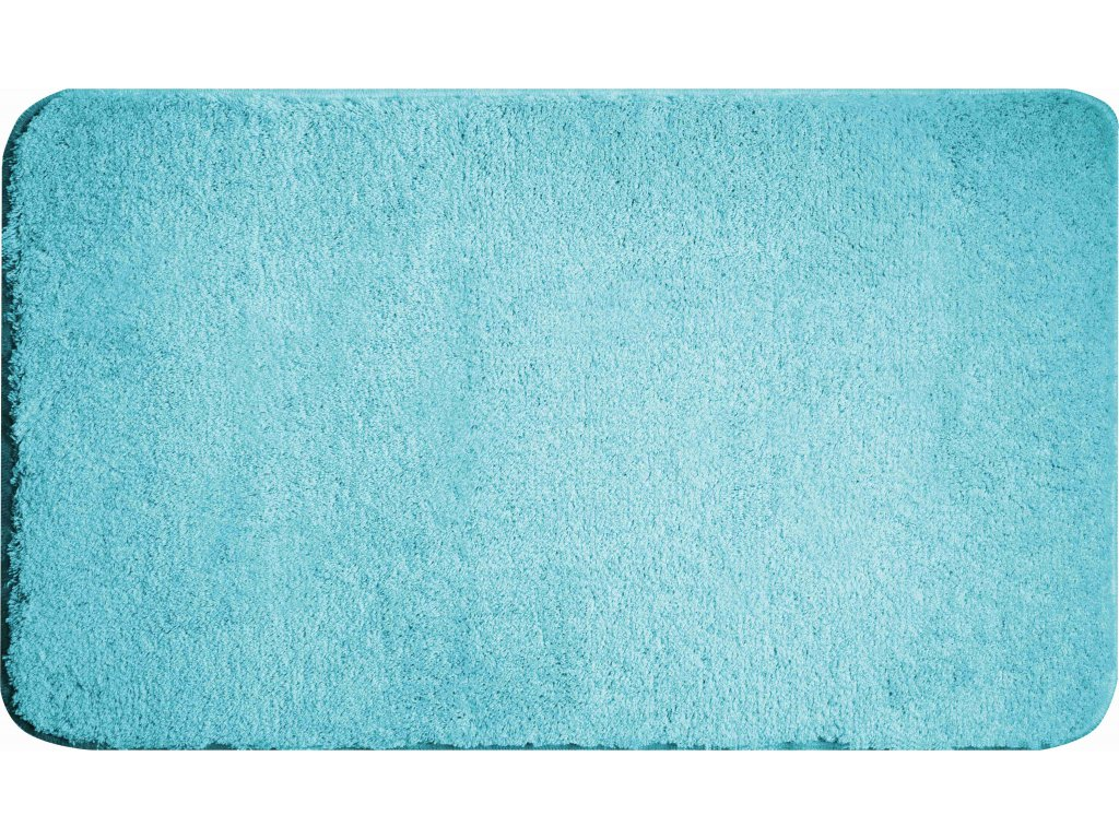 Koupelnová předložka modrá;tyrkysová, Polyakryl UltraSoft, MELANGE