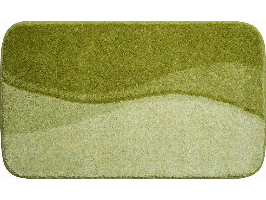 Koupelnová předložka zelená, Polyakryl SuperSoft, FLASH