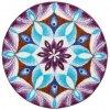 VDĚČNOST -  Mandaly předložky fialové