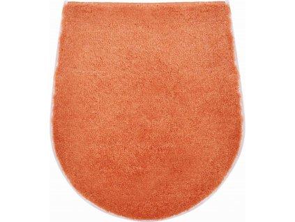 Koupelnová předložka oranžová, Polyakryl UltraSoft, CARMEN