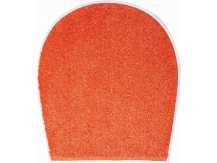 Koupelnová předložka oranžová, Polyakryl SuperSoft, DUNA