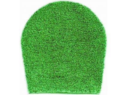 Kruhová předložka zelená, Polyakryl UltraSoft, LEX
