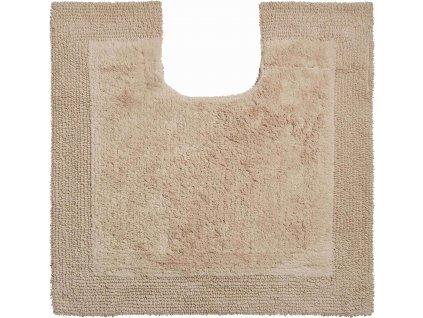 Koupelnová předložka béžová, Bavlna organická, LUXOR