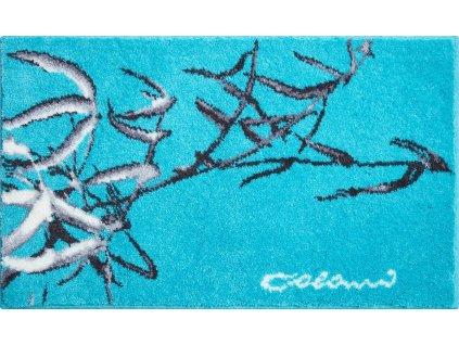 Koupelnová předložka modrá;tyrkysová, Polyakryl SuperSoft, Colani 23, b2611-023001174, 8590507315186, 63