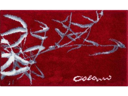 Koupelnová předložka červená, Polyakryl SuperSoft, Colani 23, b2611-023001007, 8590507315162, 63