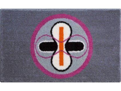 Koupelnová předložka růžová, Polyakryl SuperSoft, KARIM 01