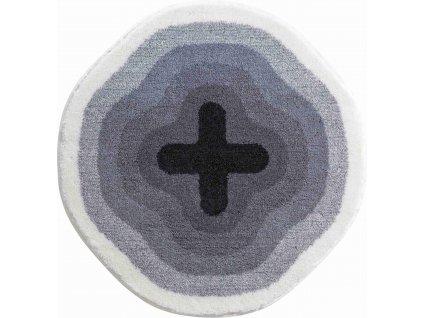 Kruhová předložka šedá, Polyakryl SuperSoft, KARIM 03, b3643-120096, 8590507285854, 64