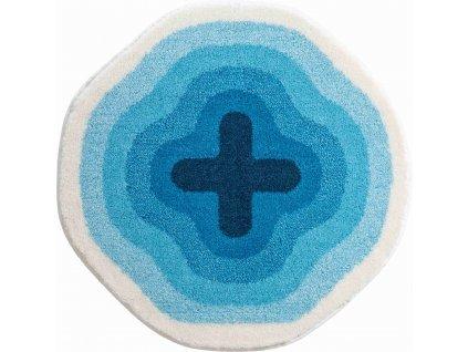 Kruhová předložka modrá, Polyakryl SuperSoft, KARIM 03, b3643-120143, 8590507285830, 64