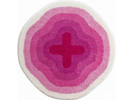 Kruhová předložka růžová, Polyakryl SuperSoft, KARIM 03, b3643-120196, 8590507285878, 64